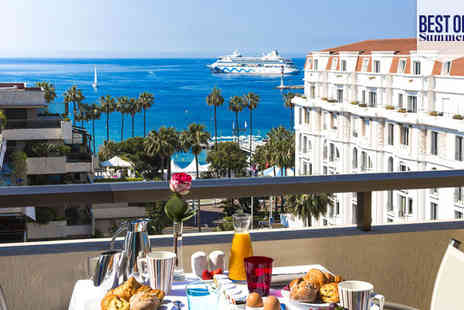 Hotel Gray D Albion Barriere - Four Star Glamorous French Riviera Escape For Two - Save 70%