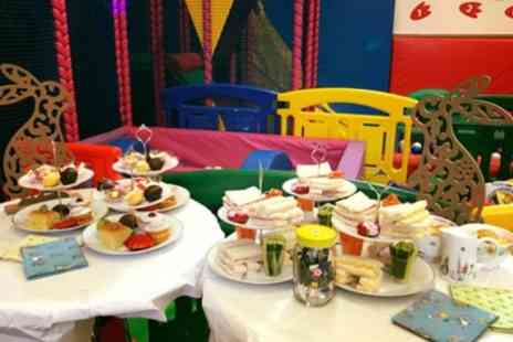 Soft Play Essex - Children Book Themed Afternoon Tea for Two Adults with Two Children - Save 37%