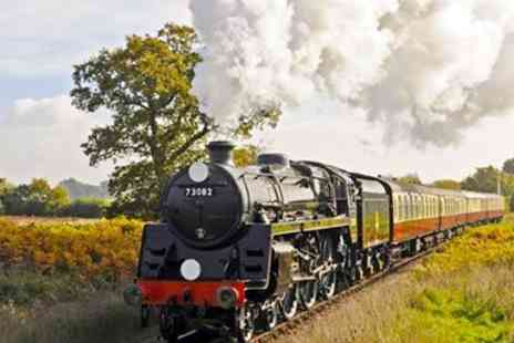 Bluebell Railway - Return steam train trip - Save 53%