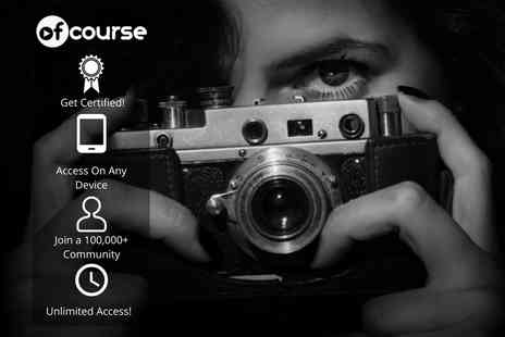 OfCourse - Online creative photography and portraiture masterclass - Save 84%