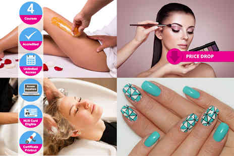 New Skills Academy - Complete beauty tech diploma - Save 97%