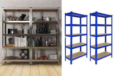 Online Deal - T rax racking shelving units - Save 75%