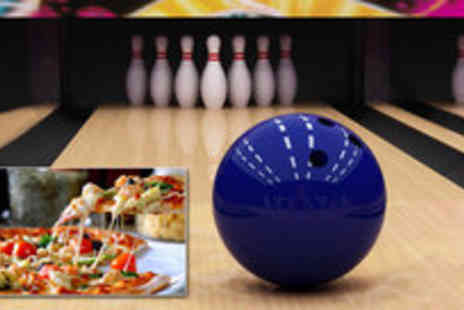Corn Exchange Village - One hour bowling for six and a pizza - Save 67%