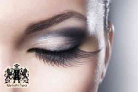 Kiyoshi Spa - Eyebrow shape and tint plus an eyelash tint - Save 67%