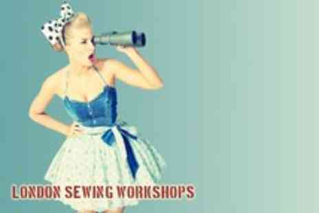 London Sewing Workshops - Three hour vintage style skirt making course take your creations home - Save 72%