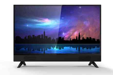 Groupon Goods Global GmbH - Akai 32 Inch HD TV with Soundbar With Free Delivery - Save 0%