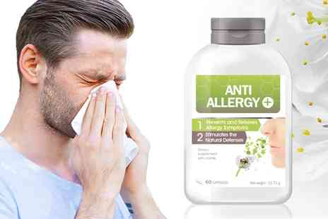 Groupon Goods Global GmbH - One or Two Month Anti Allergy Capsules Supply - Save 0%