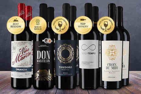 Vicampo - Case of 10 bottles of Old World red wine - Save 64%