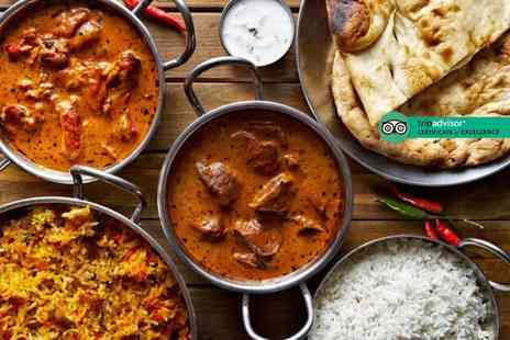 The Raj - £25 or £50 voucher to spend on food and drink for two - Save 48%