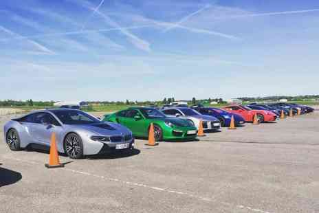 Supercar Test Drives - Three lap supercar experience on a weekday or weekend with Supercar Test Drives choose from five locations across the UK - Save 77%