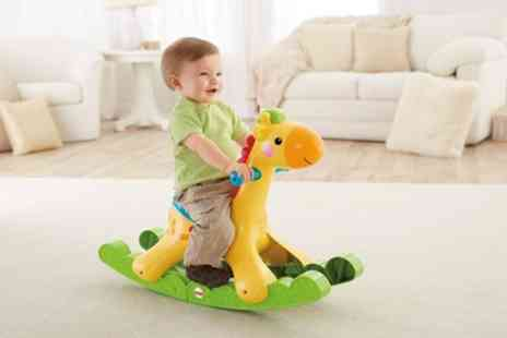Groupon Goods Global GmbH - Sambro Fisher Price Rocking Giraffe Toy - Save 68%