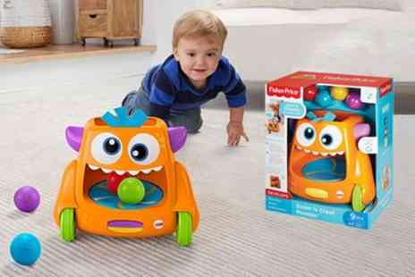 Groupon Goods Global GmbH - Fisher Price Zoom n Crawl Monster - Save 34%