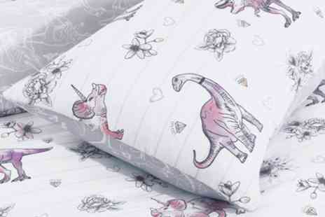 Groupon Goods Global GmbH - Diva saur Reversible Duvet Set - Save 69%