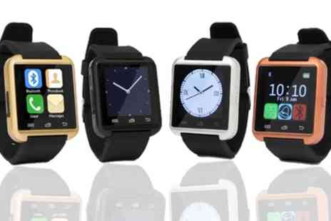 Groupon Goods Global GmbH - One or Two BAS-Tek Bluetooth Smart Watches - Save 80%