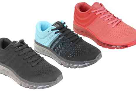 Groupon Goods Global GmbH - Womens Running Bubble Trainers - Save 0%