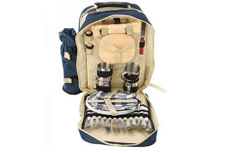 HXT Goods - Oxford Picnic Backpack Choose 2 Colours - Save 57%
