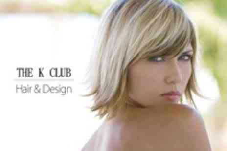 The K Club Hair Design - Cut, Restyle and Conditioning Treatment - Save 66%