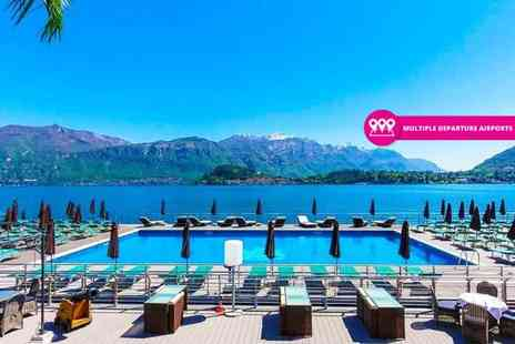 Bargain Late Holidays - Three or Five night all inclusive Lake Como break with return flights - Save 33%