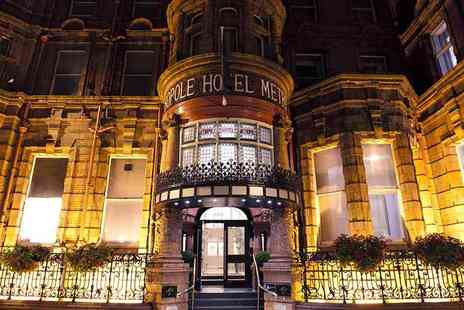 The Met Hotel - Overnight stay for two people including a two course dinner and breakfast - Save 36%