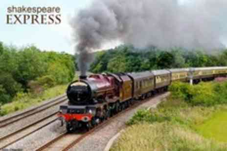 The Shakespeare Express - Vintage Steam Train Journey For One Person - Save 65%