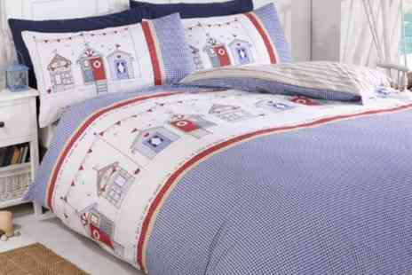 Groupon Goods Global GmbH - Rapport Home By the Sea Duvet Sets - Save 69%