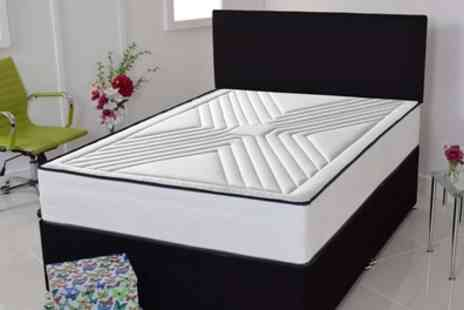 Groupon Goods Global GmbH - Minster Soft Touch Memory Foam Mattress With Free Delivery - Save 90%