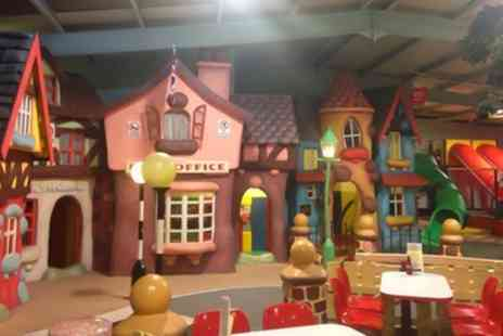Tiny Tots Village Indoor Playzone - Kids Indoor Play Zone Entry for Up to Four Children - Save 49%
