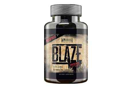 Groupon Goods Global GmbH - 90 or 180 Capsules of Warrior Blaze Reborn - Save 0%