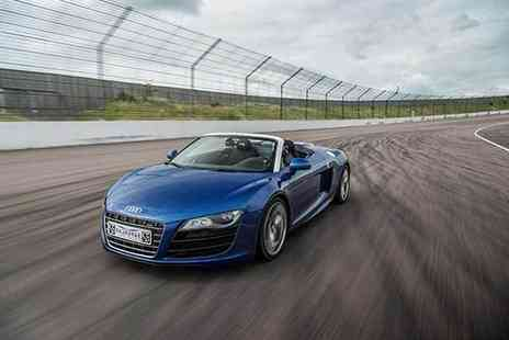 Buyagift - Six mile supercar driving thrill with a free high speed passenger ride - Save 0%