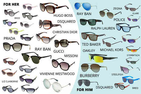 Brand Arena - Mystery sunglasses deal from Prada, Burberry, Oakley, Gucci, Rayban, Ralph Lauren, Glare, Stormtech and more - Save 0%