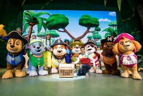 PAW Patrol - Ticket to PAW Patrol Live! The Great Pirate Adventure choose from three ticket tiers, seven UK arena locations - Save 40%