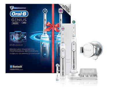 Jynx Direct - Oral B Genius 8900 electric toothbrush with two handles - Save 66%