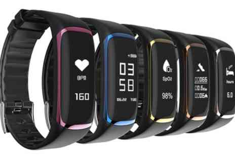 Groupon Goods Global GmbH - Apachie Supreme Activity Tracker with HRM and Blood Pressure Monitor - Save 65%