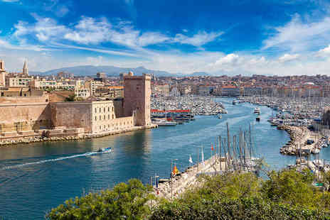 Golden Tulip Marseille Euromed - Four Star Modern Design Hotel Stay For Two with Sea Views - Save 80%