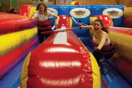 Inflatable Planet - Inflatable Games Entry for Two, Three or Four Children - Save 50%
