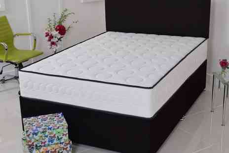 Groupon Goods Global GmbH - Bubbles Memory Foam Mattress With Free Delivery - Save 0%