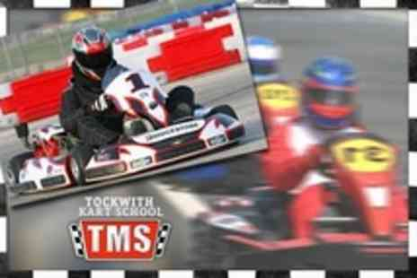Tockwith Kart School - 30 Laps of Karting For Ten - Save 34%