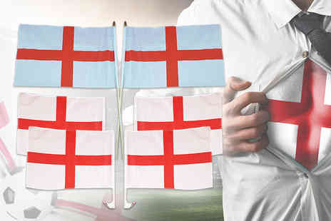 Squizzas - World Cup England flag pack - Save 65%