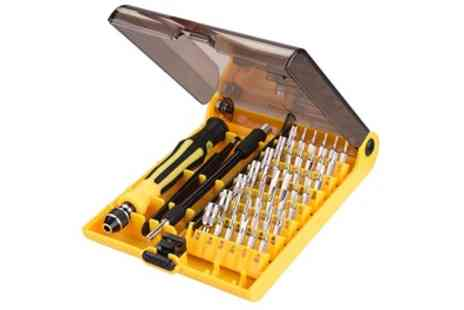 Groupon Goods Global GmbH - 32 in 1 or 45 in 1 Torx Precision Screwdriver Set - Save 81%