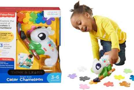 Groupon Goods Global GmbH - Fisher Price Smart Scan Colour Changing Chameleon - Save 58%
