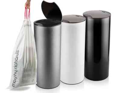 Groupon Goods Global GmbH - Morphy Richards 50L Sensor Bin with Ten Scented Liners in Choice of Colour With Free Delivery - Save 76%