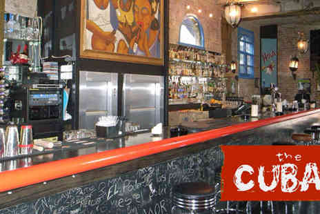 The Cuban- Tapas and Sangria for two - Save 61%
