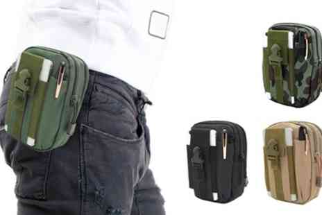 Groupon Goods Global GmbH - One, Two or Four Waist Belt Travel Pouches - Save 62%