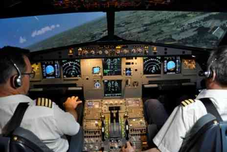 Deeside Flight Simulators - Flight, Airline Pilot Simulator Experience or Combination Package - Save 51%