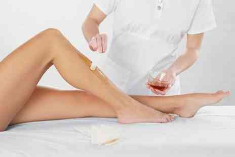 Holistic Health Lab - Brazilian or Hollywood Organic Waxing with Optional Underarms, Half or Full Leg - Save 64%