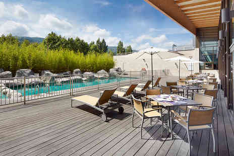 Hotel Puerta de Bilbao - Four Star Modern Hotel Stay For Two with Terrace Pool in Bilbao - Save 72%