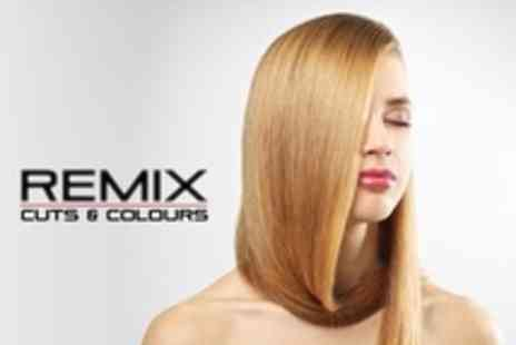 Remix Cuts & Colours - Brazilian Keratin Treatment With Wash and Blow Dry - Save 80%