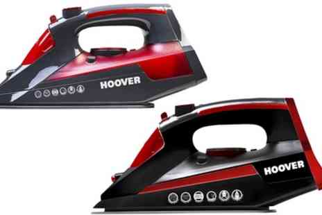 Groupon Goods Global GmbH - Hoover TIM2500C or TIM2700A Iron Jet Steam Iron - Save 62%
