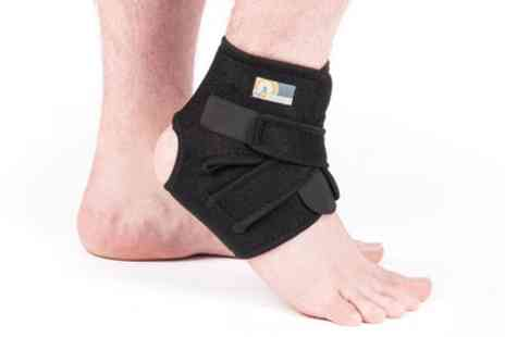 Groupon Goods Global GmbH - One or Two ProWorks Adjustable Neoprene Ankle Supports - Save 60%