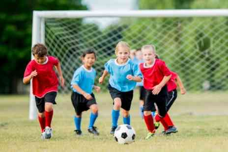 All Star Soccer Coaching - Four Day Soccer, Dance Camp or Gymnastics Camp - Save 45%